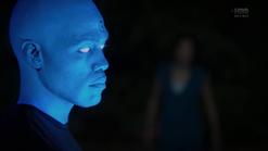 S1e8 blue man