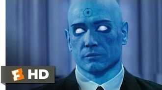 Watchmen (2-9) Movie CLIP - Face to Face with Dr. Manhattan (2009) HD