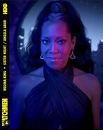 Regina King is Angela Abar and Sister Night