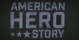 American Hero Story Title Card