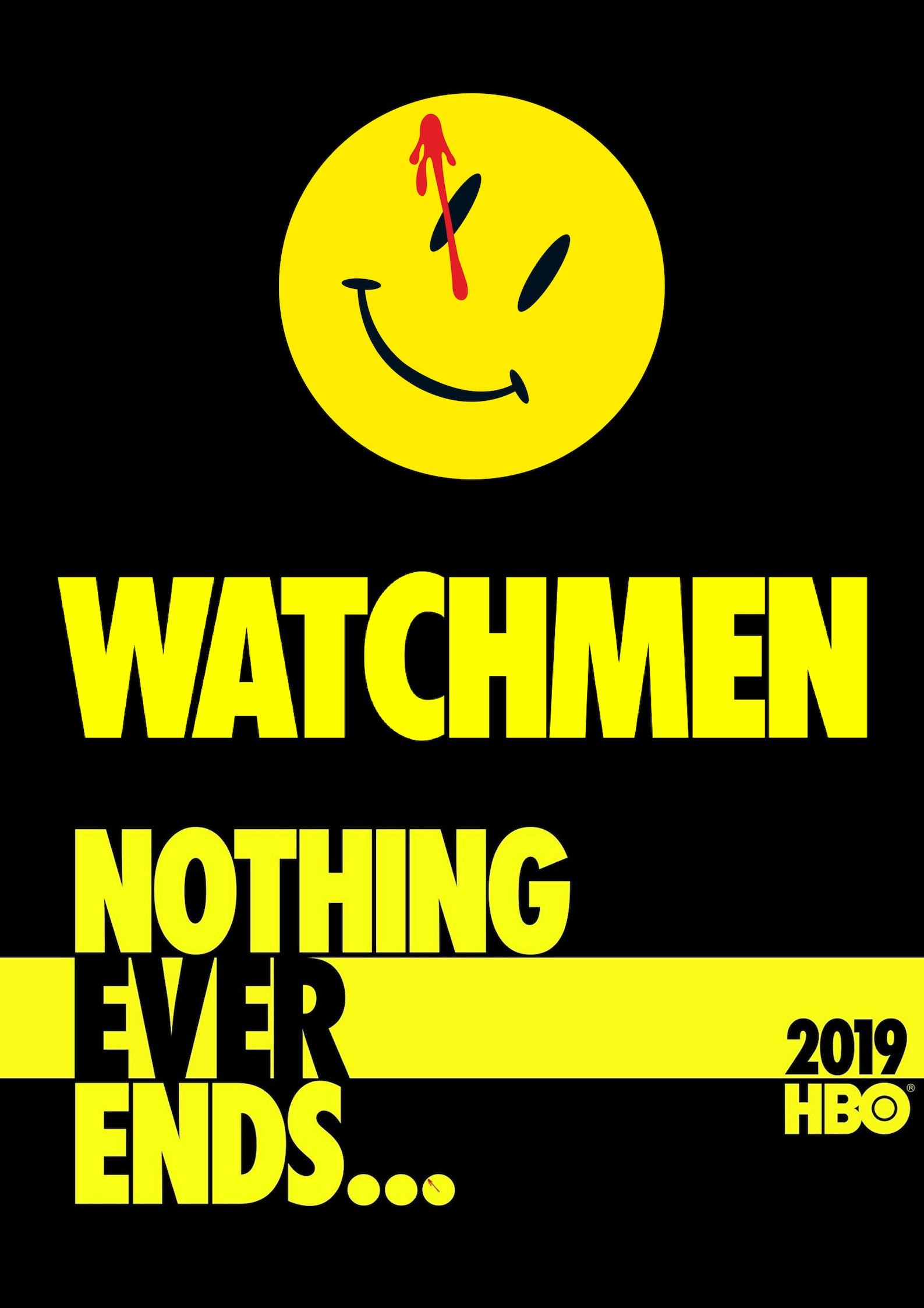 Image result for hbo watchmen poster