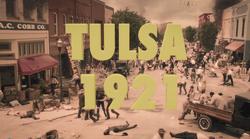 Tulsa 1921 Title Card