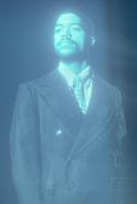 O.B. Williams hologram in S 1 E 4