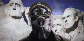 Mount Rushmore in Watchmen Universe