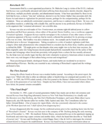 Rorschachs Journal FBI Memo Page 2