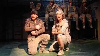 Watership Down Trailer at The Watermill Theatre, Newbury, UK