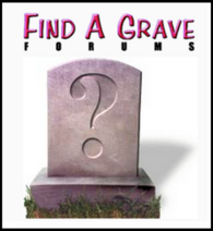 Find A Grave Masthead and Bury Icon