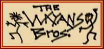 Wayans Bros script Peach and Black