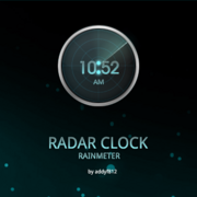Radar clock by addyf812-d4ef7ts
