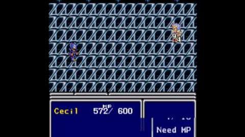 Final Fantasy IV - Cecil becomes a Paladin