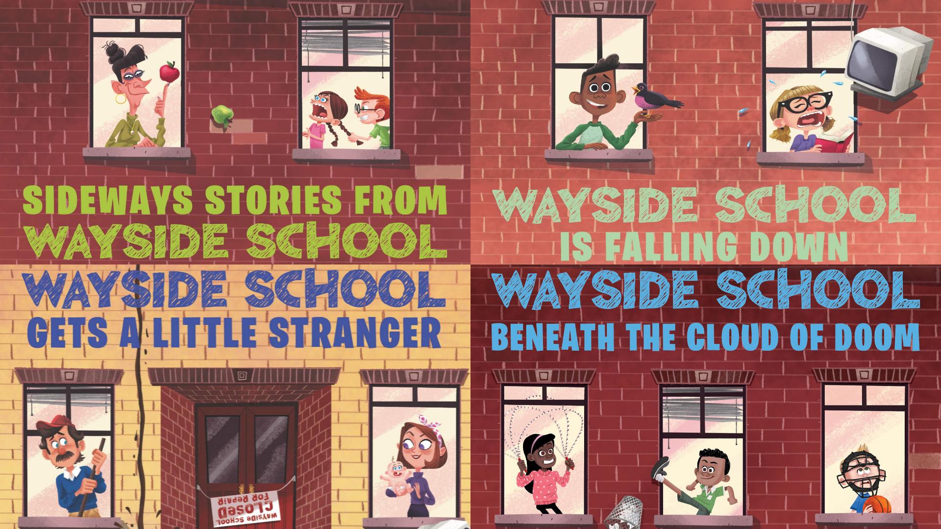 Wayside School Book Series Wayside School Wikia Fandom Powered