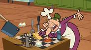 Mush crying at chess