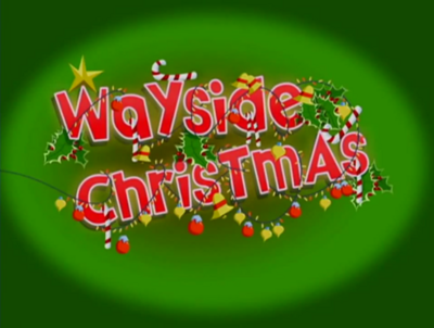 Wayside Christmas Title Card