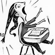 Leslie Illustration