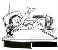 Mr. Gorf Chapter Illustration 1995