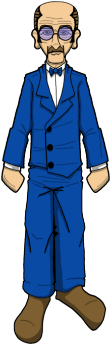 Doctor Nerda - sticker