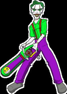 Joker (II) - sticker