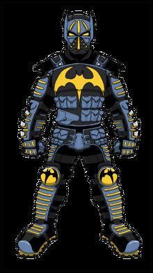 Bat Bruce - sticker