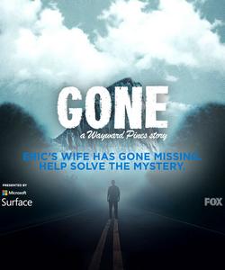 Gone promotional logo