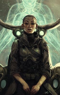 Generic Sci Fi The Pilot by jeffsimpsonkh