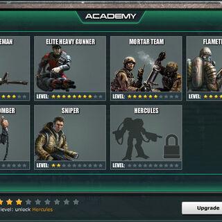 Academy Level 4 - Standard Units
