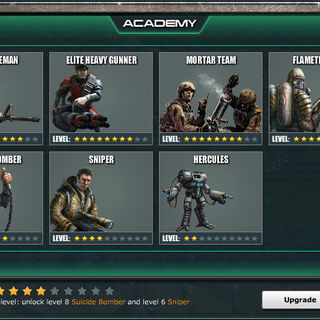 Academy Level 5 - Standard Units