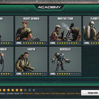 Academy Level 7 - Standard Units