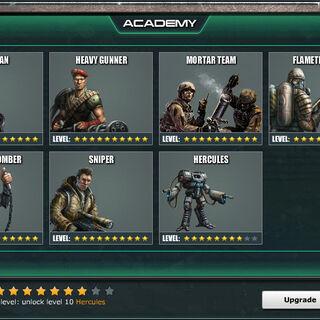 Academy Level 8 - Standard Units