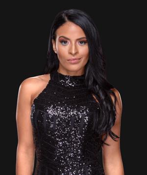 WWE diva Paige shows off her sexy body in black bikini