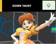 Down taunt