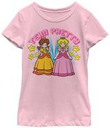 Peach Daisy Team Pretty