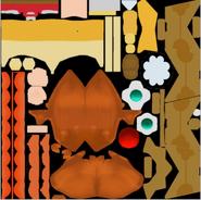 MK8 Bb Daisy Texture
