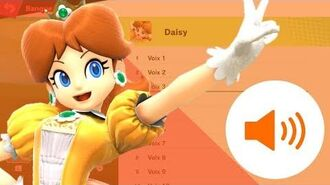 SSBU Daisy's voices and Sounds clips!!