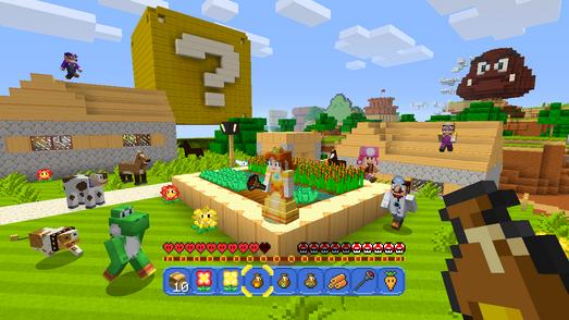 Minecraft Wii U Daisy