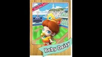 Mario Super Sluggers Baby Daisy Voice