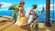 Pit Daisy and Toon Link