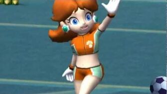 Super Mario Strikers Daisy's Animations Home-2
