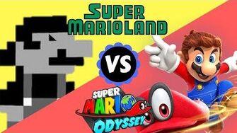 TOP 5 Similarities between SUPER MARIO ODYSSEY and SUPER MARIO LAND