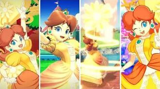 Super Smash Bros. Ultimate Daisy Gameplay and Final Smashes