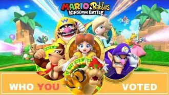 Mario Rabbids Kingdom Battle WHO YOU WANTED !
