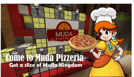 Muda Pizzeria Advertisement