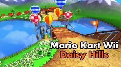 Mario Kart Wii Custom Track Daisy Hills (MK7) HD 60fps-0