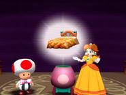 DaisysBed princess daisy Mario party 4 gamecube