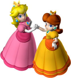 547px-Princess Peach and Princess Daisy - Mario Party 7