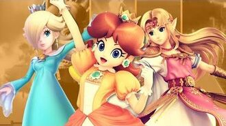 Super Smash Bros Ultimate Daisy VS Rosalina and Zelda!