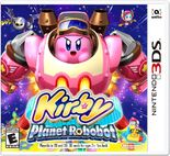 Kirby planet robobot box art