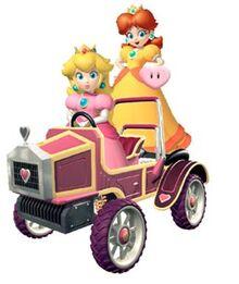 Peach and Daisy: Racing Partners