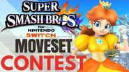 Smash Daisy Moveset Contest !