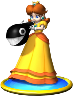 Daisy Art - Mario Party 5