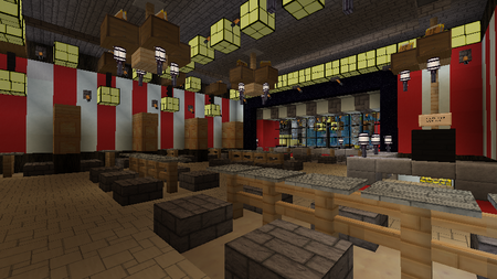 Inside Muda Pizzeria